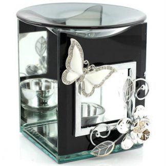 Black Butterfly Oil Warmer