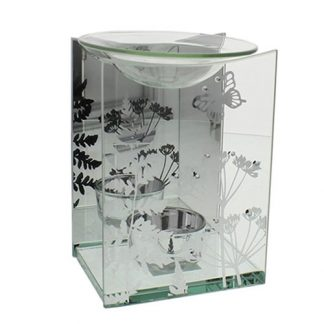 Hestia Glass Butterfly Oil Burner
