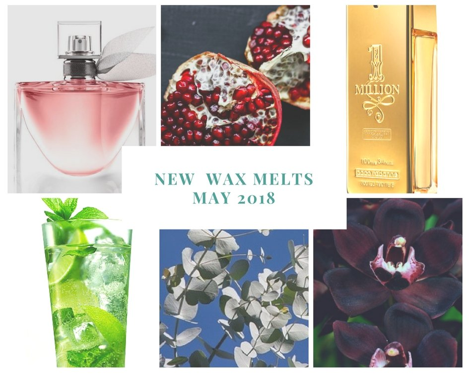 New Fragrances for May 2018