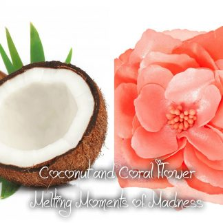 Coconut and Coral Flower