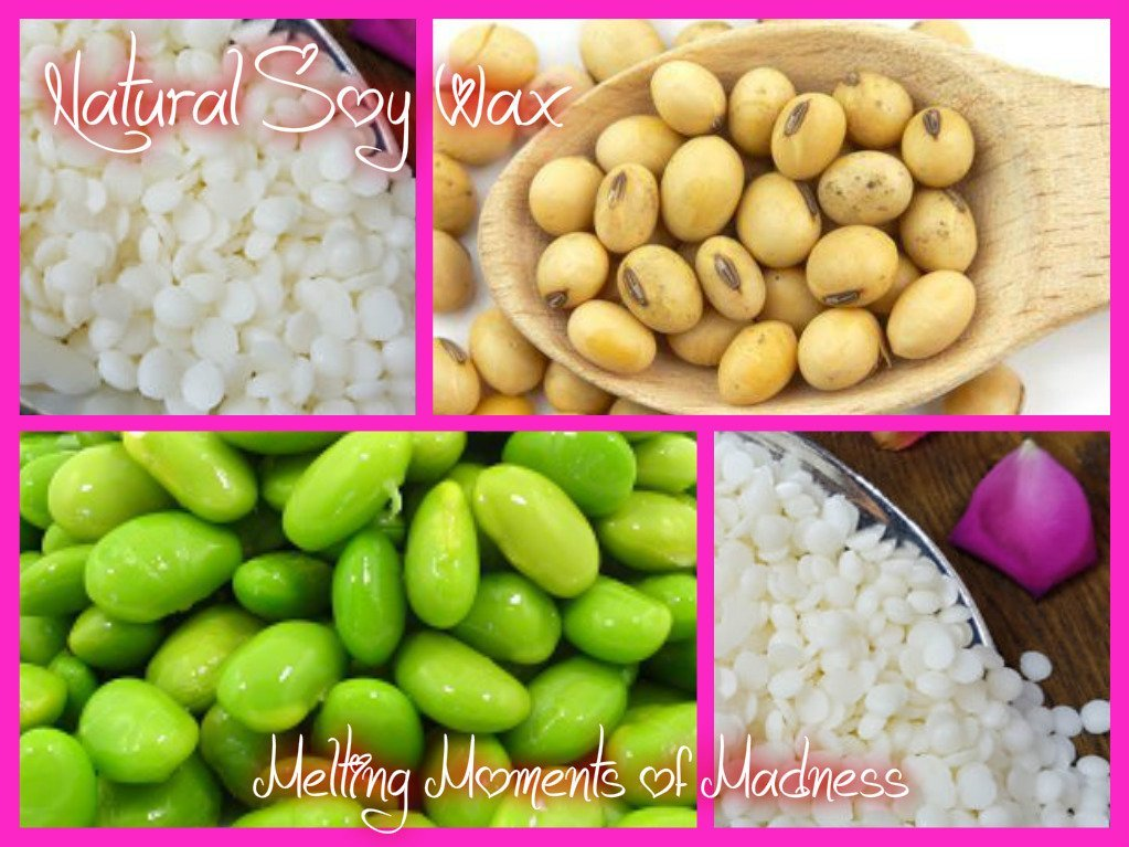 Soy Beans make Scented Soy Wax Melts