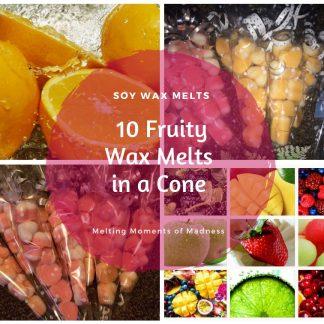 Fruity Medium Wax Melt Cone