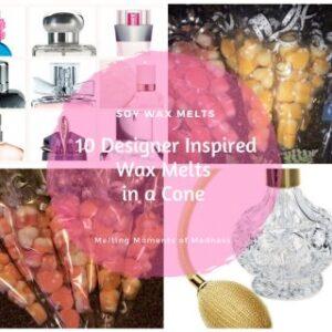 Designer & Perfume Inspired Medium Wax Melt Cone