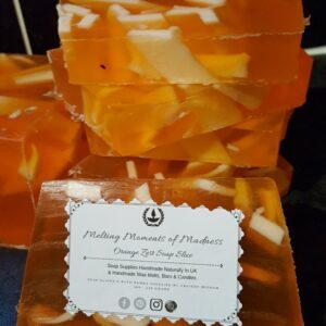 Orange Zest Soap Slice