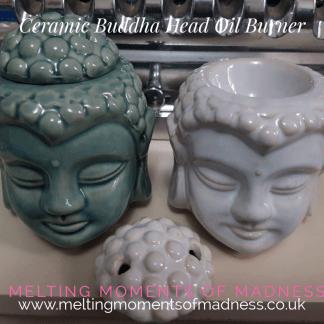 Crackle Glaze Buddha Wax Melter