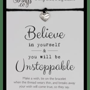 Wishstring Believe in Yourself Bracelet
