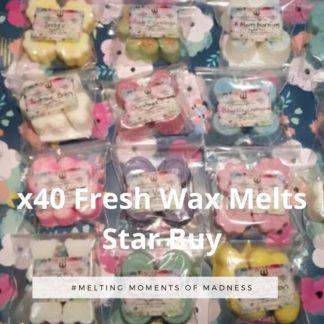 40 Fresh Wax Melts