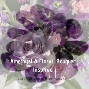 Amethyst and Floral Bouquet Wax Melts - Lenor Inspired