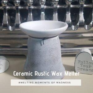 Ceramic Rustic Wax Melter