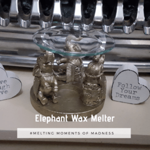 Elephant Ring Wax Melter / Oil Burner