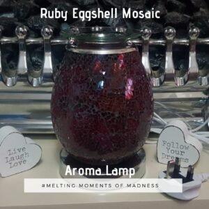 Ruby Mosaic Aroma Lamp
