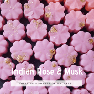 Indian Rose and Musk Wax Melts