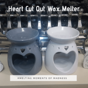 large heart cut out Wax Melter