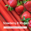 Strawberry & Rhubarb Wax Melts