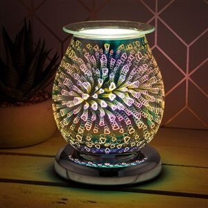 3D Hearts Aroma Lamp