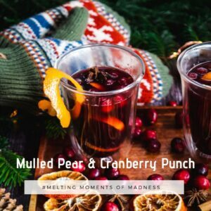 Mulld Pear & Cranberry Punch Wax Melts
