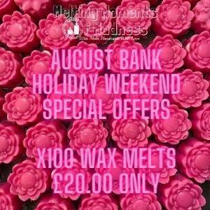 x100 Wax Melts Special Offer
