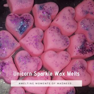 unicorn sparkle wax melts
