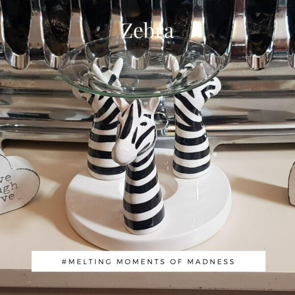 Ceramic Zebra Wax Melter