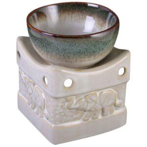 Ceramic Elephant Wax Melter