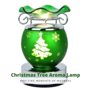 Christmas Green Tree Electric Burner