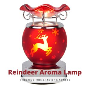 Christmas Red Reindeer Electric Burner