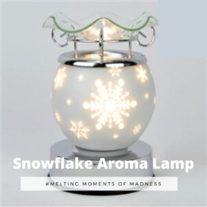 Christmas White Snowflake Electric Burner