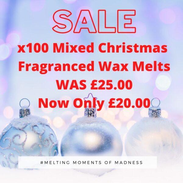 X100 Christmas wax Melts