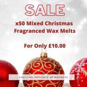 X50 Christmas wax melts